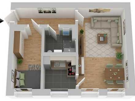 *Ihr neues Zuhause wartet* Sanierte 2 Raumwohnung