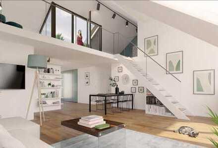 DG-Aufstockung- Luxuriöse Dachgeschoss-Galerie-Wohnung