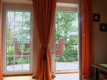 Wunderbare Maisonette-Wohnung in grüner, ruhiger Lage von Bergstedt