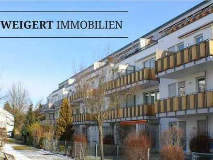 """WEIGERT: """"Am Sonnenbogen"""" - Helle 3-Zimmer-Wohnung mit 2 Bädern und Balkon im Herzen von FFB"""