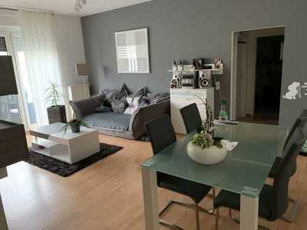 Gepflegte, modern, geschnittene Süd Wohnung inkl. Keller u. Kfz-Stellplatz in TG