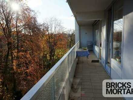 4 ZKB mit Balkon in Top-Lage im Zentrum von Augsburg!