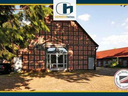 Provisionsfrei für Käufer–2-Fam.-Landhaus mit Remise, Stallgebäude, Weidefläche in Bergen a.d.Dumme