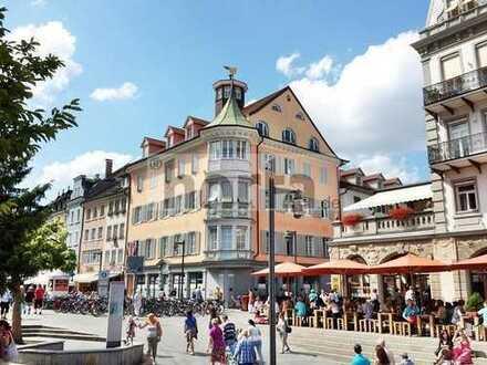 Attraktives 1-Zimmer-Stadtappartment mit Terrasse in Konstanz (Marktstätte)