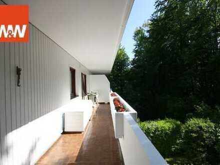 Kapitalanlage - gemütliche 3 Zimmerwohnung mit großem umlaufenden Balkon in ruhiger Lage von Grünwal