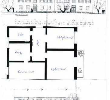 Günstige, gepflegte 3-Zimmer-Wohnung mit Balkon in Herne