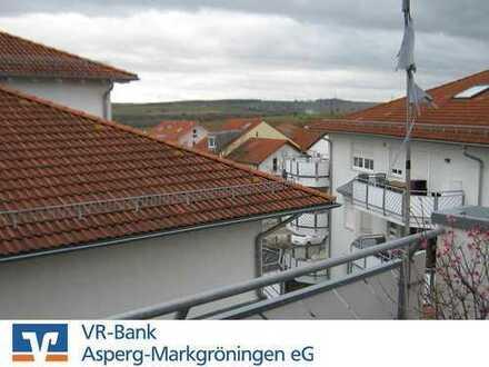 Dachgeschoss-Wohnung mit Aussicht! 3-Zimmer-ETW
