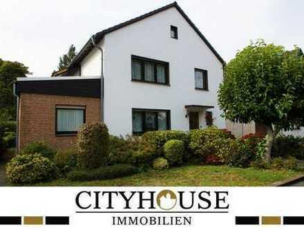 CITYHOUSE: Freistehendes Einfamilienhaus, sehr gepflegt, mit großem Garten, Balkon und Garage