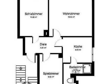 Attraktive 3-Zimmer-Wohnung mit EBK in Reinsdorf