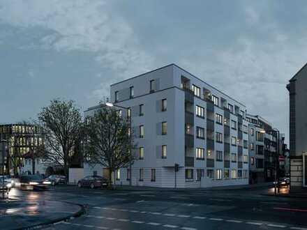 Modern Wohnen in perfekter Lage! Effiziente 2-Zimmer-Wohnung mit West-Loggia + 300m zum Rhein