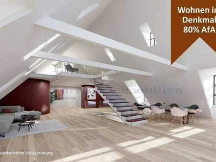Dachterrasse mit Weitblick + Wohnung mit Galerie +  hoher Steuervorteil + Aufzug + ERSTBEZUG