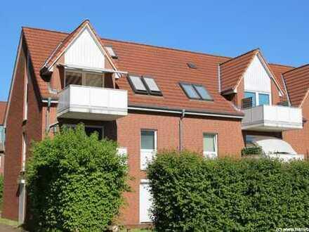 Großburgwedel: Maisonettewohnung in Zentrumsnähe
