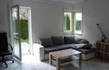 Sonnige 1-Zimmer-Terrassenwohnung und Einbauküche in Markdorf