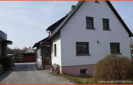 RESERVIERT Schnuckliges Wohnhaus, vollunterkellert, Garage und großzügigem Grst. in Eiterfeld OT.
