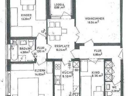SCHNÄPPCHEN + 1. KALTMIETE GESCHENKT 🎁 Tolle Familien- oder WG-Wohnung