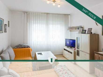 Wohnungspaket nahe Wöhrder See - Zwei helle 2-Zimmer-Wohnungen mit Balkon und Garage