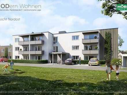 Garten und Terrasse nach Süden - 3 Zi, 90 m²