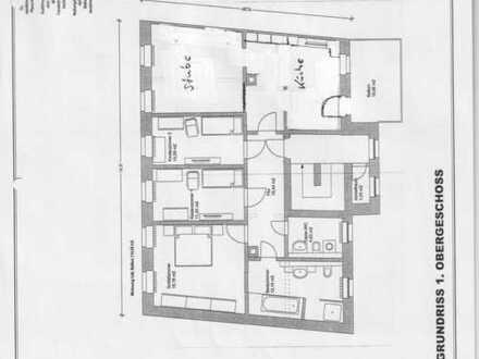 Erstbezug nach Sanierung!! helle 4 Zimmer Wohnung mit großzügigem Balkon in zentraler Lage