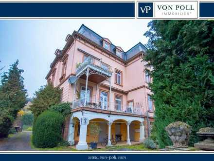 Zentral wohnen in historischer Villa mit Nahe-Blick