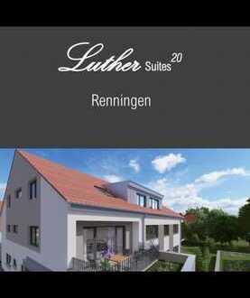 Erstbezug mit EBK: stilvolle 1-Zimmer-Wohnung in Renningen