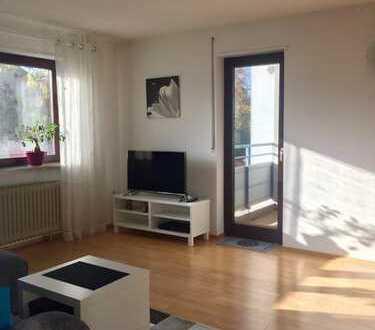2-Zimmer-Hochparterre-Wohnung mit 2 Balkonen in ruhiger Lage von Neuhofen