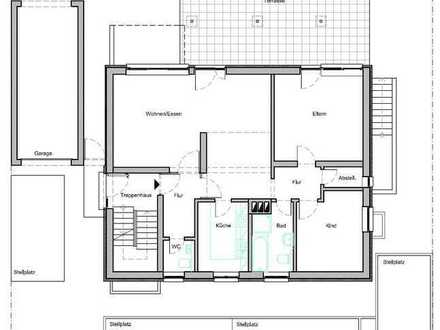 3 1/2 ZKB EG im ruhigen 3-Familienhaus in Wörth, Dorschberg