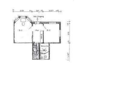 Sanierte 2-Zimmer-Wohnung mit EBK in Borchen