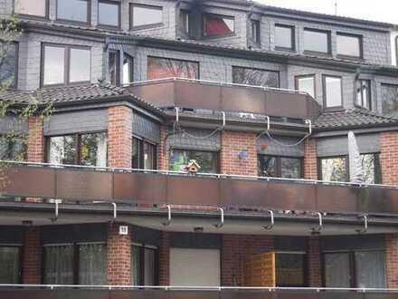 Hamm-Lohauserholz - Günstige, geräumige und gepflegte 2-Zimmer-Maisonette-Wohnung mit Balkon in Hamm
