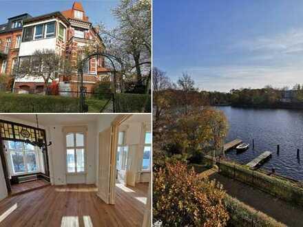 Villa direkt an der Spree mit Bootssteg, Wintergarten+Garten, bezugsfrei, wie im Urlaub!