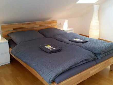 möblierte 3-Zimmermaisonettwohnung mit 2 Balkone, TV, Wlan - flexibel mietbar