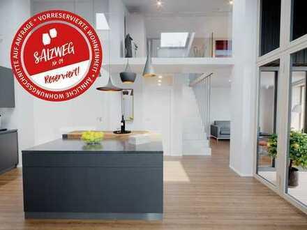 Wohnen am Salzweg: 2-Zimmer-Maisonette, 2. OG/DG, 61qm (Reserviert)