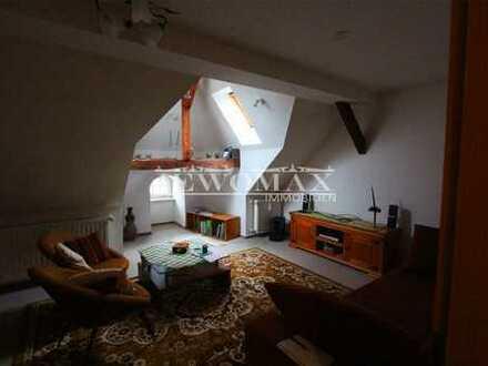 gemütliche 4 Zimmer Dachgeschosswohnung mit Einbauküche und Weitblick in Altstrelitz