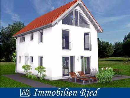 Neubau eines sonnigen, idyllisch gelegenen Einfamilienhauses in Westendorf nähe Kaufbeuren