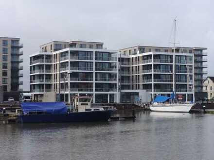 PANORAMA Bremerhaven-Traumhafte 2-Zimmer-Eigentumswohnung am Neuen Hafen