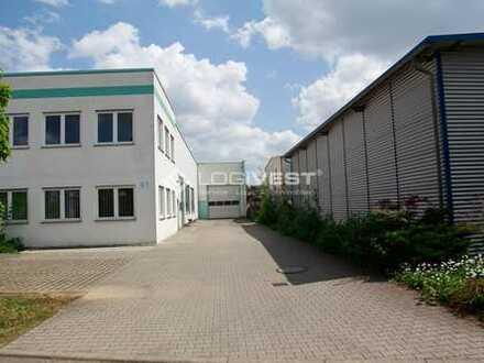 Lagerhalle mit Büro am Autobahnkreuz Lohfelden