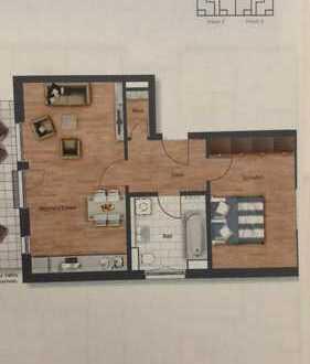 870 €, 71 m², 2 Room(s)