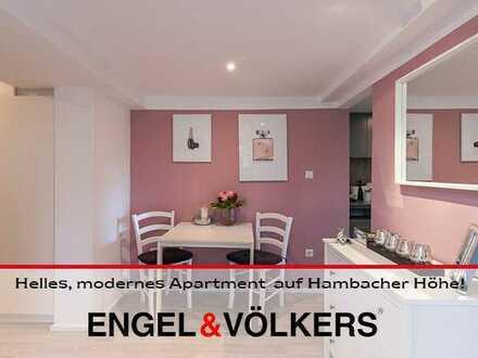 Helles, modernes Apartment mit Einbaumöbeln auf Hambacher Höhe!