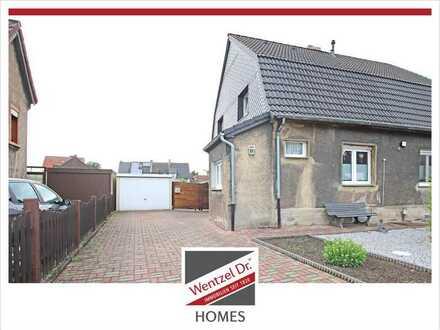 Kleines süßes Doppelhaus mit sehr viel Potential in Hamm-Heessen