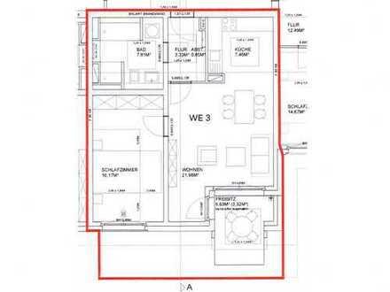 Erstbezug: moderne 2-Zimmer-EG-Wohnung in Köln-Junkersdorf