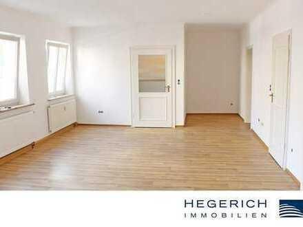 HEGERICH: Helle und großzügige 3-Zimmer-Wohnung mit charmanten Innenhof!