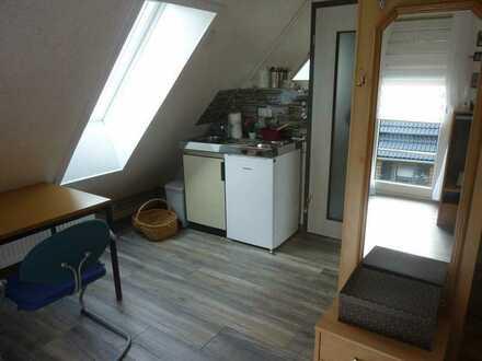 neuwertiges 1-Zimmer-Dachgeschoss mit Single-EBK 6km von Herrieden
