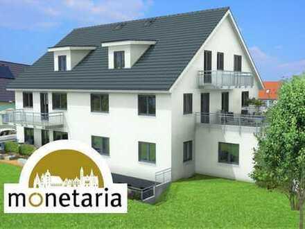 Die Familienwohnung - Barrierefreie 3 Zi. Terrassenwohnung mit großem Wohn-/Essbereich KfW 55