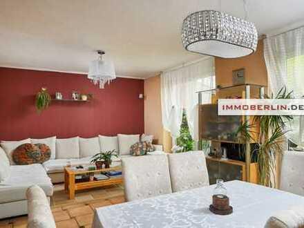 IMMOBERLIN: Perfekt gebaut & ausgestattet! Doppelhaushälfte mit Südgarten