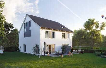 Neubau Doppelhaushälfte in Leipzig-Lindenthal inkl. Grundstück