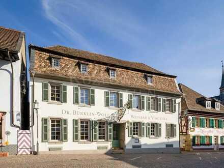 Prominentes Kulturdenkmal in Bestlage - Gasthaus ZUR KANNE Deidesheim!