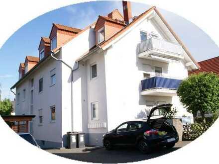 3 Zimmer Etagenwohnung mit Balkon und Tiefgaragenplätze in ruhiger und zentraler Lage