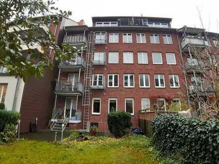 Gepflegte 1-Zimmer-Wohnung mit Gartenblick in Münster