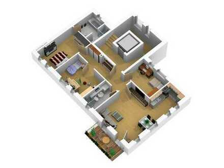 Modernes Wohnen! Attraktive 4 - Zimmer-Wohnung mit Balkon und Autostellplatz!