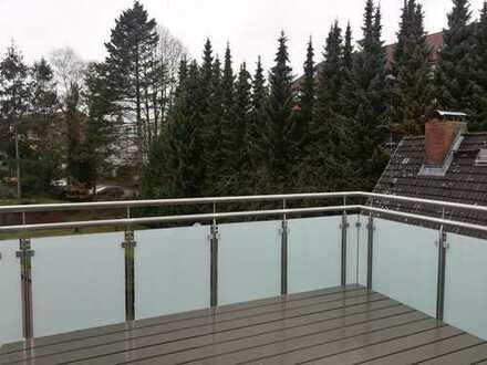 Erstbezug! 2 Zi.-Wohnung mit Einbauküche und Balkon