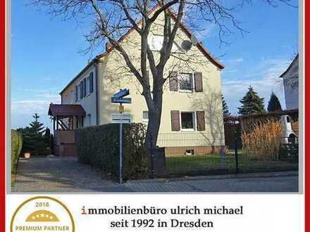 * Familienfreundliches Doppelhaus mit Garten & Sauna ~ ruhige Höhenlage ~ Leubnitz-Neuostra *